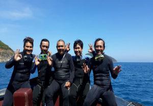 kinh nghiệm lặn biển tại đảo hòn mun