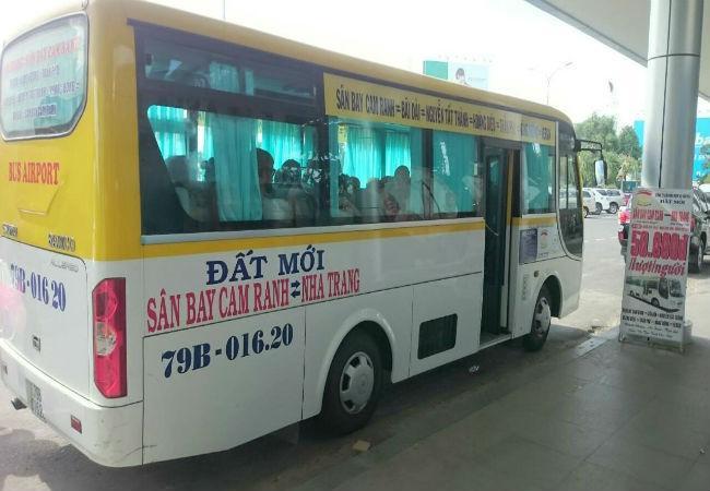 xe bus đất mới nha trang