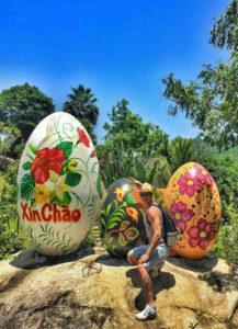 trăm trứng nha trang