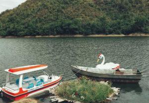 vui chơi tại hồ kênh hạ