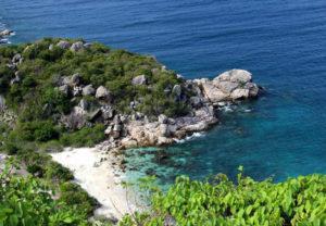 hòn rùa tại đảo bình ba