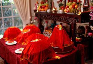 nghi thức truyền thống đám cưới