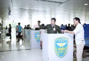 an ninh ở sân bay
