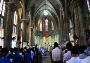 khu thánh đường nhà thờ