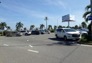 bãi đậu xe sân bay cam ranh