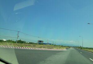 đường đi tới sân bay cam ranh